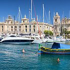 Malta: Traditional Boat by Kasia-D