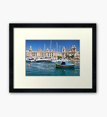 Malta: Traditional Boat Framed Print