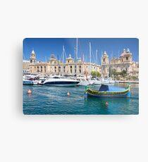 Malta: Traditional Boat Metal Print