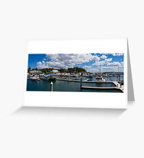 Nelson Bay ~ Panoramic View Greeting Card