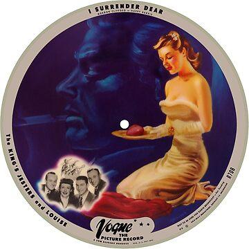 Vogue Record Art - R 708 - P 3 by studiobprints