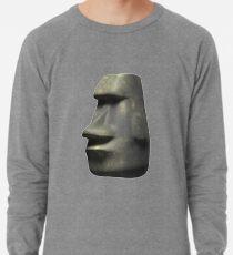Moai Emoji Lightweight Sweatshirt
