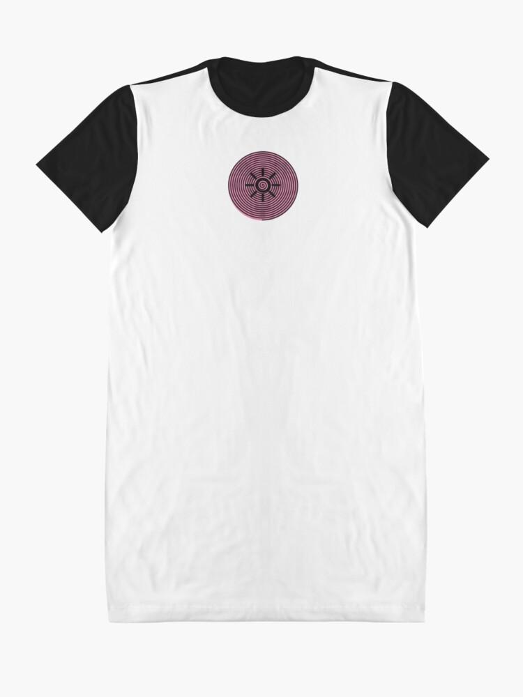 Alternate view of Feminisation Symbol 3 - Annabel Fatale Graphic T-Shirt Dress