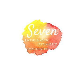 Enneagram Seven by emmanne03