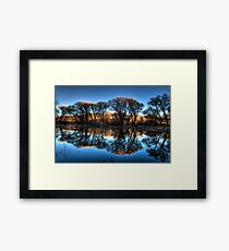 Willow Creek Cove Redux Framed Print