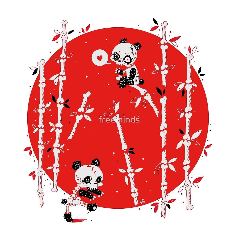 Zombie-Pandas von freeminds