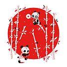 Zombie Pandas by freeminds