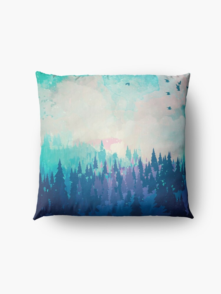 Alternate view of Forest Floor Pillow
