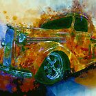 1936 Dodge Pickup Truck Street Machine Dream by ChasSinklier
