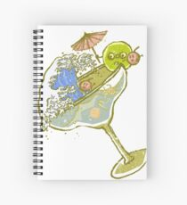 Spilled Drink Spiral Notebook