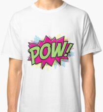 Pow! Cartoon Classic T-Shirt