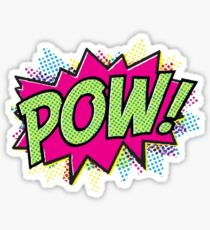 Pow! Cartoon Sticker