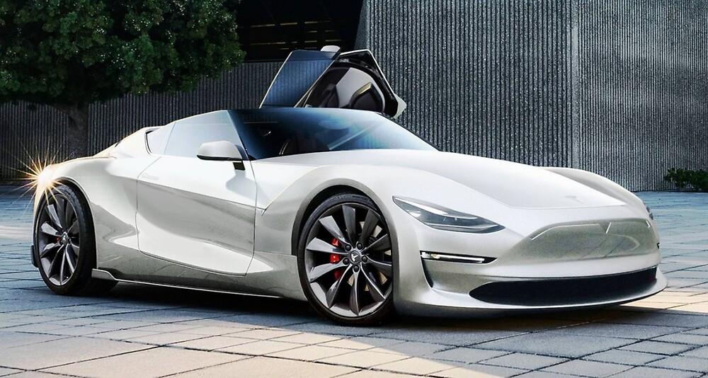 2020 Tesla Roadster >> Tesla Roadster 2020 By Carldergrosse Redbubble