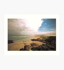 Birubi Beach Port Stephens Art Print