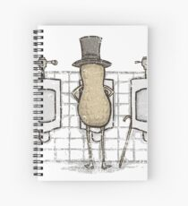 Mr. Peenut Spiral Notebook