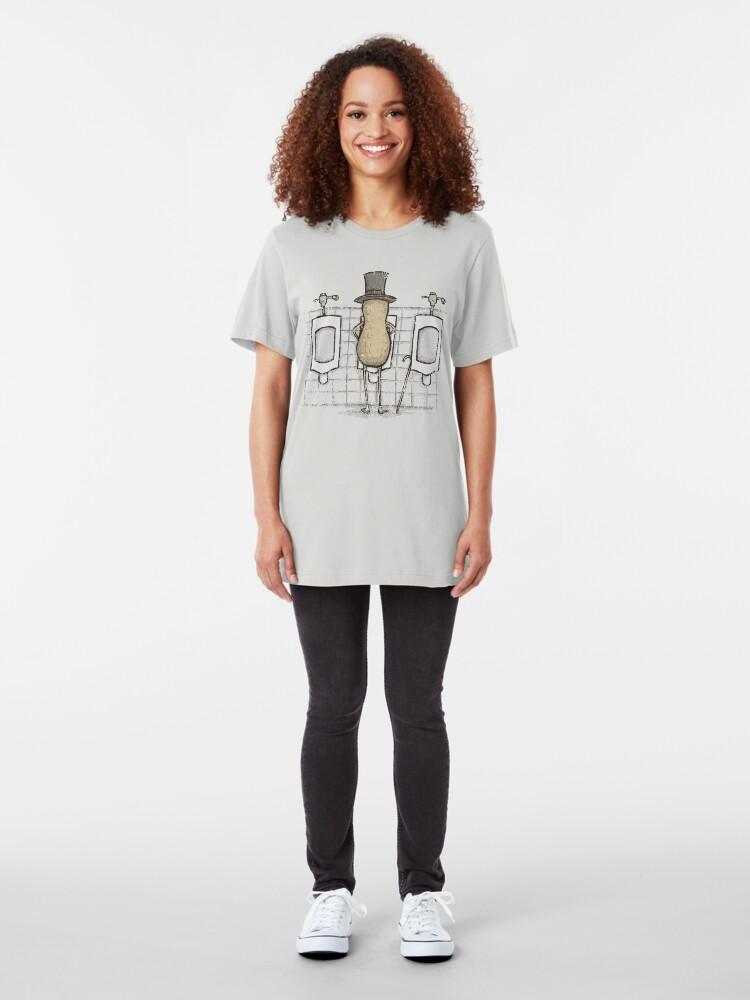 Alternate view of Mr. Peenut Slim Fit T-Shirt
