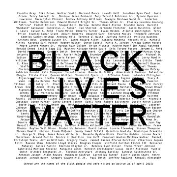Black Lives Matter by valyrianheart