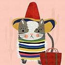 «Gato de viaje» de elenor27