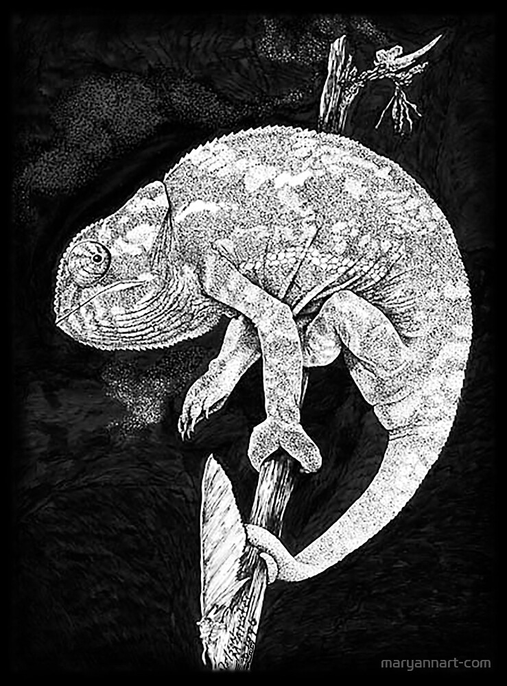 Chameleon by maryannart-com