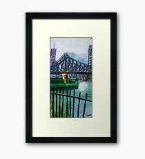 Story Bridge I Framed Print