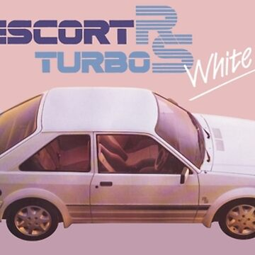 FORD ESCORT RS TURBO by ThrowbackMotors