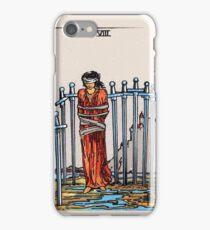 Eight of Swords Tarot Card iPhone Case/Skin