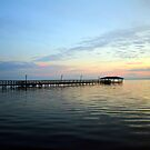 End Of Pier Sunset by Cynthia48