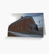 Madison County (Montana) Court House Greeting Card