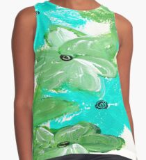 SHADES OF GREEN Contrast Tank