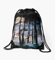 The Glory Of The Sky.. Drawstring Bag