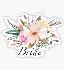 Blumenbraut Sticker