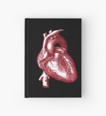 Vintage Heart Graphic Hardcover Journal