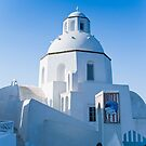Early in the  Morning on Santorini by Jacinthe Brault