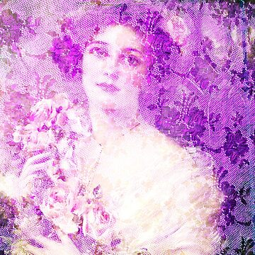 Beautiful female from Victorian era, Belle epoque,art nouveau, vintage,lace,elegant,chic,modern,trendy,design,pattern,fabric design by love999