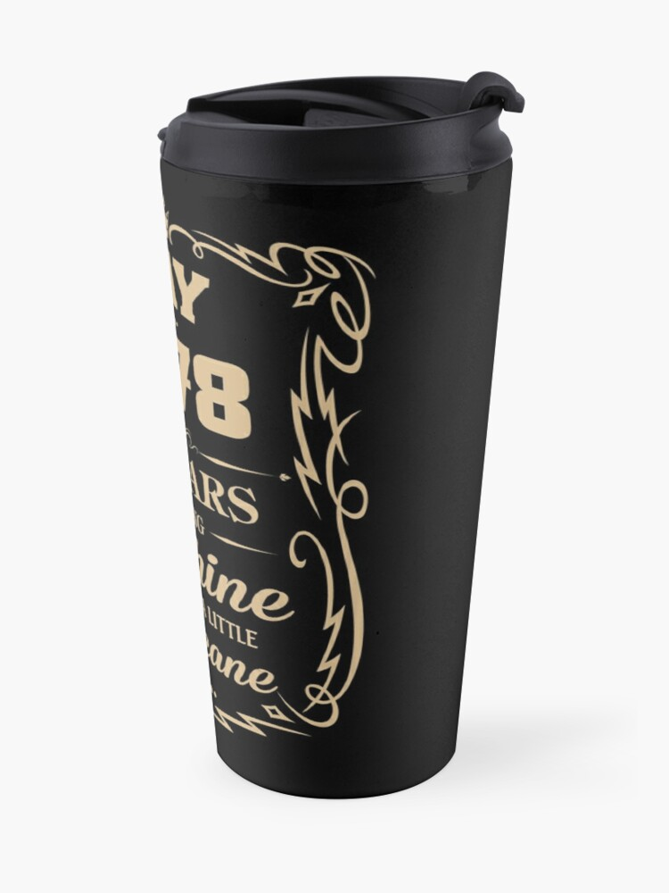 Alternate view of May 1978 Sunshine Mixed With A Little Hurricane Travel Mug