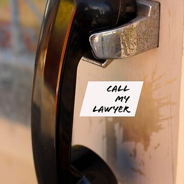 Call My Lawyer Pay phone by FrenchToasty