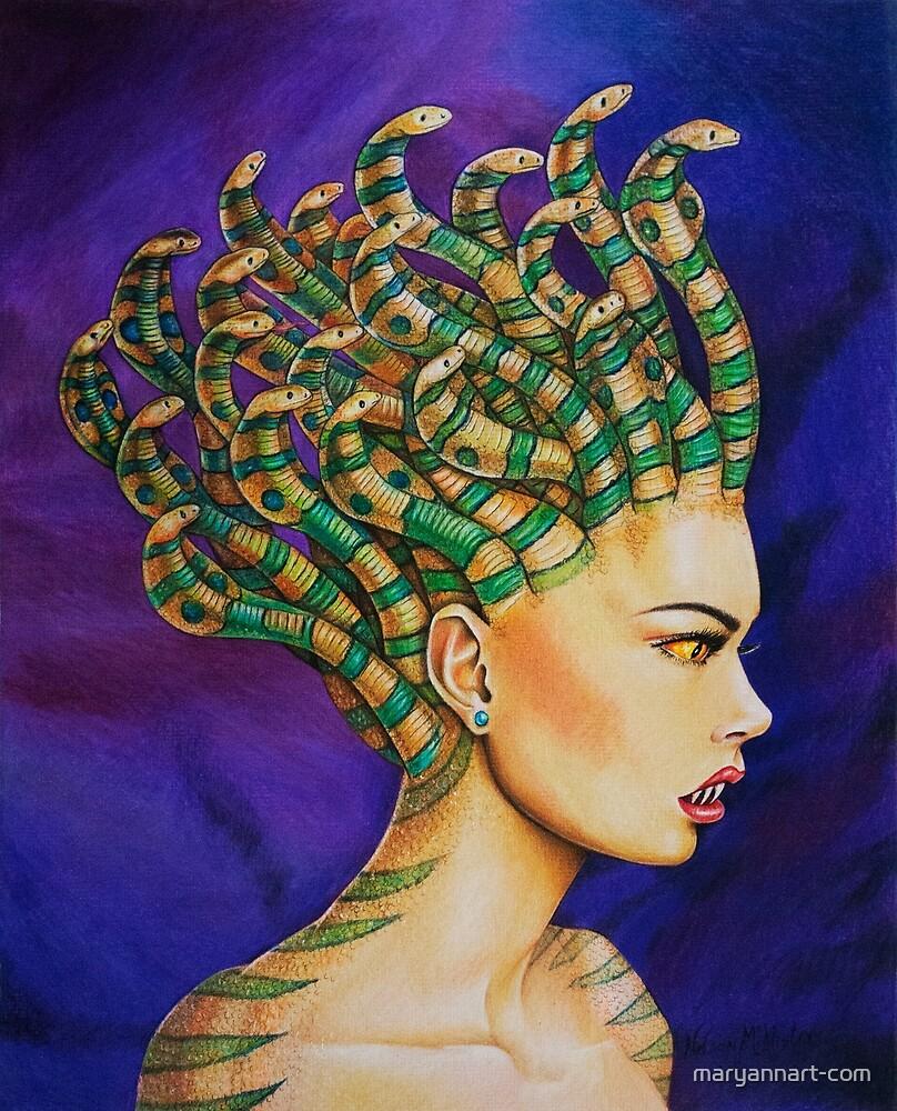 Medusa the Queen by maryannart-com