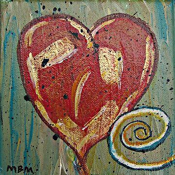 Red Heart by marymirabalart
