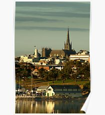 St Mary's Basilica,Geelong Poster