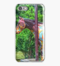 Horse Of A Different Color iPhone Case/Skin