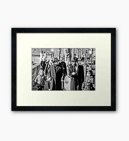 Generations in Paris Framed Print