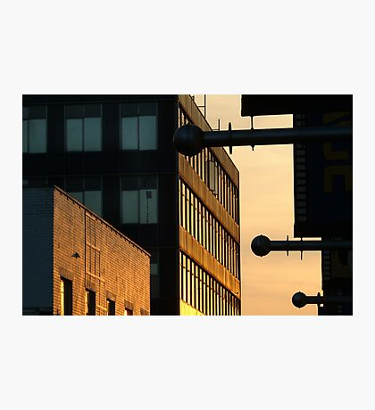 Sundown,Lt Ryrie St Geelong Photographic Print