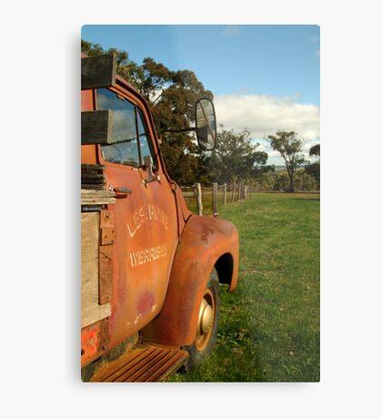 Bedford Truck, Brisbane Ranges Metal Print