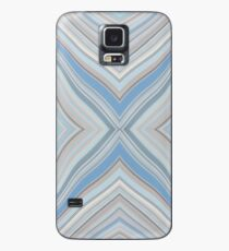 Wild Wavy X Lines 55 Case/Skin for Samsung Galaxy