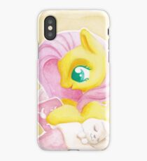 Reading is Magic: Fluttershy iPhone Case/Skin