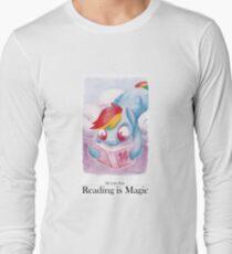 Reading is Magic: Radinbow Dash Long Sleeve T-Shirt