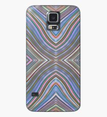 Wild Wavy X Lines 58 Case/Skin for Samsung Galaxy