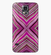 Wild Wavy X Lines 60 Case/Skin for Samsung Galaxy