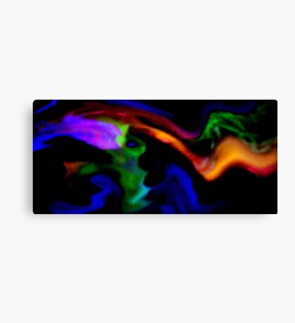 Spreading Gaseous Clouds Canvas Print