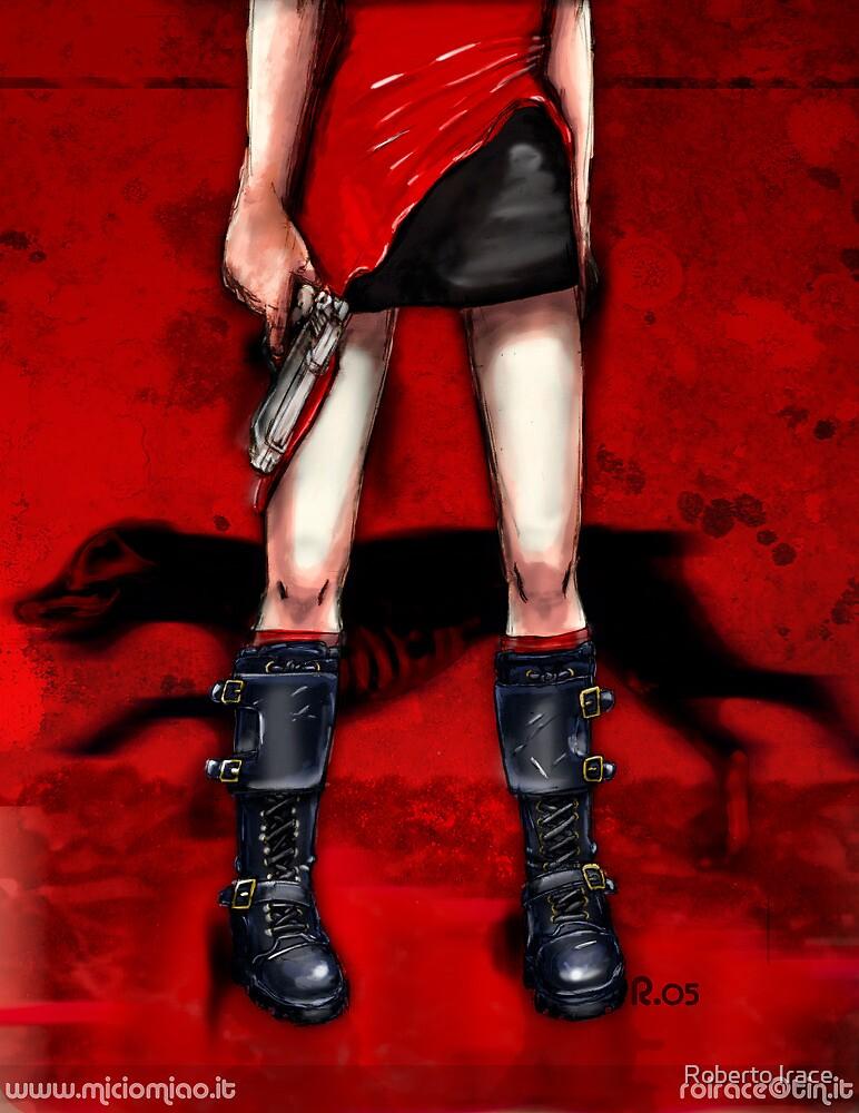 Red Dress & Zombie Dog by Roberto Irace
